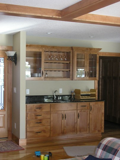 bar cabinet kitchenette